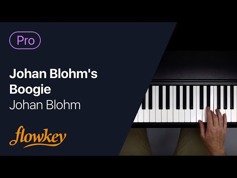 Johan Blohm – Johan Blohm's Boogie (advanced piano arrangement)