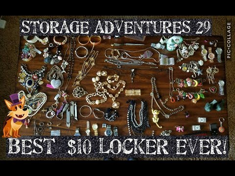 STORAGE ADVENTURES 29: 50,000% PROFIT! JEWELRY COLLECTION 18K GOLD AND MORE!