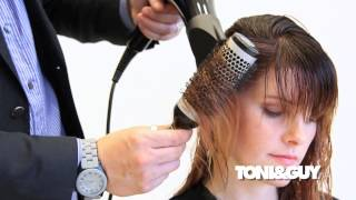 The Perfect Blowdry Technique | Ribboning with a Round Brush