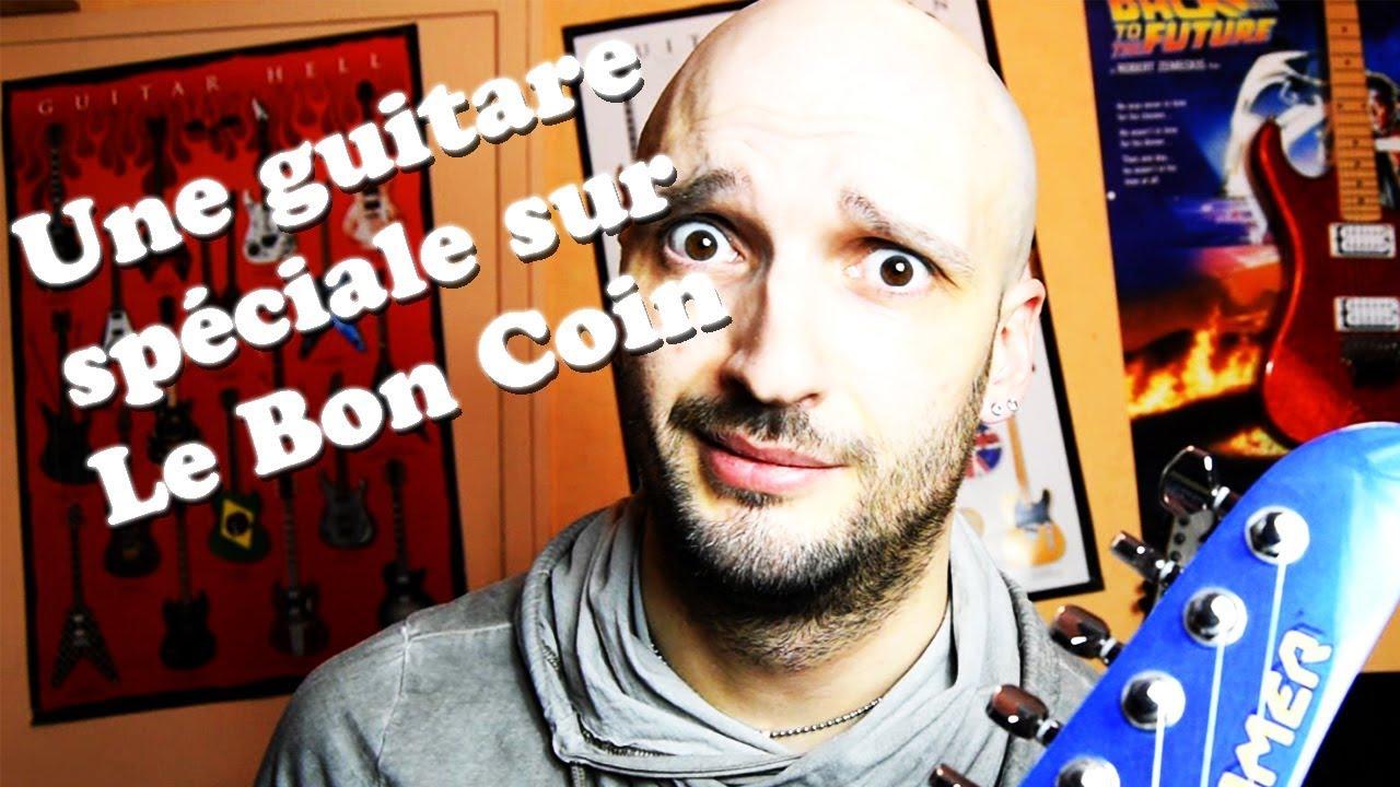 J'achète une guitare un peu spéciale sur Le Bon Coin - VLOG #3 - YouTube