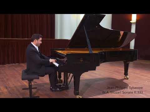 Jean-Philippe Sylvestre joue Mozart Sonate K.333, Paris, 2017
