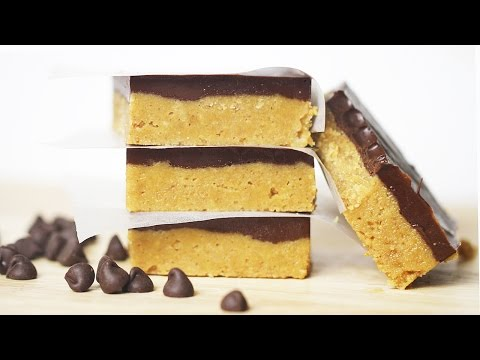 No-Bake Chocolate Peanut Butter Bars Recipe - DIY Holiday Treats, Christmas Gift Ideas