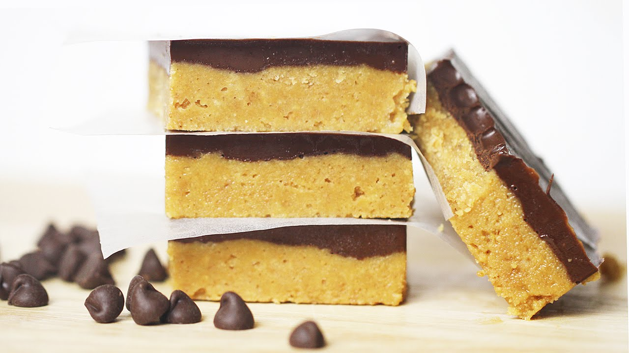 No-Bake Chocolate Peanut Butter Bars Recipe - DIY Holiday Treats ...