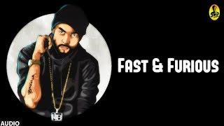 BOHEMIA | Gaddi Meri Fast And Furious (Official Audio) | Latest Punjabi Rap Song 2016