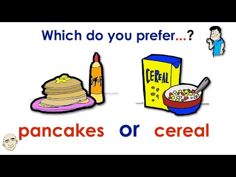 Which Do You Prefer...? | Preference | Set 1 | Easy English Conversation Practice | ESL/EFL
