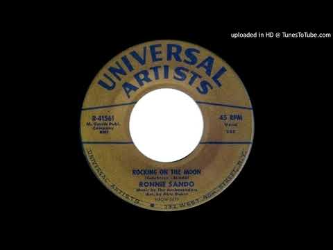 RONNIE SANDO & THE AMBASSADORS: Rocking On The Moon (Universal Artists) 1961