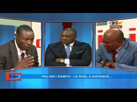 C-POLITIK - JOHN FRU NDI  / MAURICE KAMTO:  LE DUEL A DISTANCE...