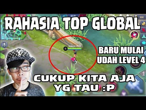 RAHASIA TOP GLOBAL FARMING SUPER CEPET LANGSUNG LEVEL 4 - Mobile Legends Training Indonesia
