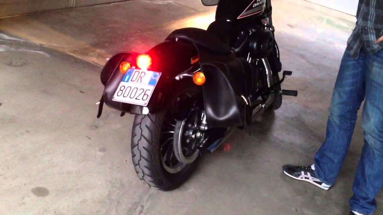 883r Drag Specialties Custom Bobber Led Tail Light Youtube