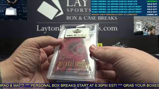 Heroes Of Sport - Iconic Heroes Layton Sports Cards Edition 6 Box Case Break #21