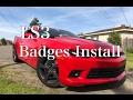 LS3 Badges Install