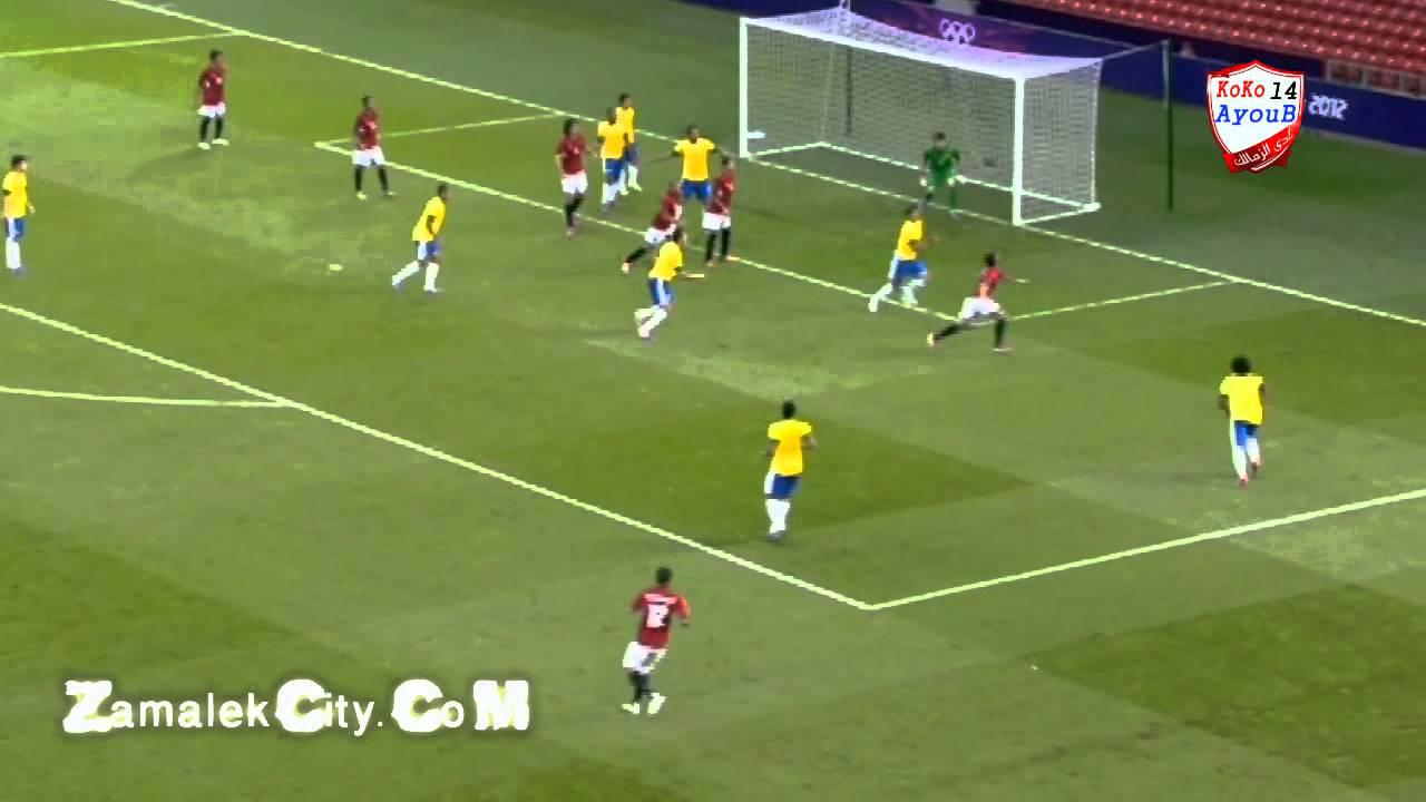 مباراه مصر والبرازيل