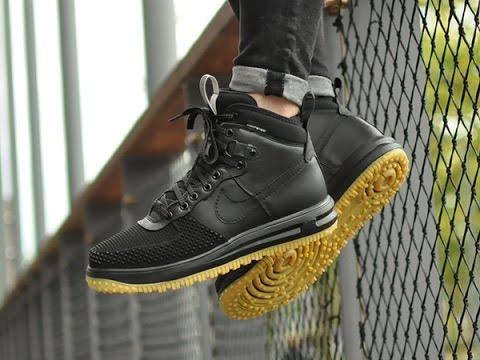 sports shoes 33741 48548 Nike Lunar Force 1 Duckboot   Sneakersenzo - YouTube