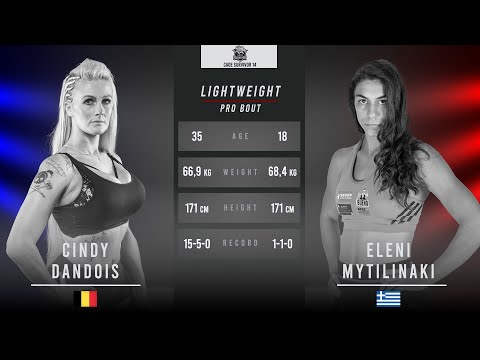 Cage Survivor 14: Cindy Dandois vs. Eleni Mytilinaki Full Fight