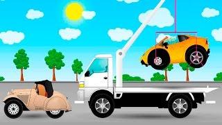 Машинки мультфильмы - Авария на дороге. Развивающие мультики для детей про машинки.