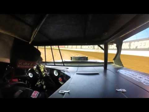Lucas Oil Speedway - Heat race win 4 23 16