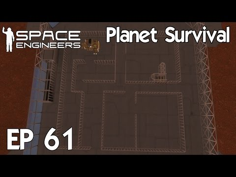 Space Engineers Planets - Ep 61 Floor Planning