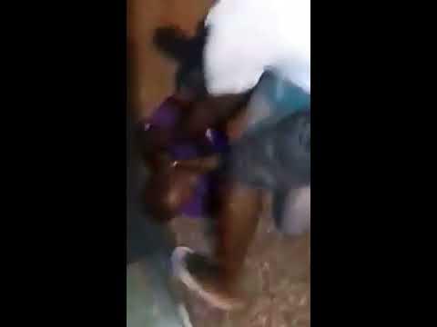 Bbw beating man