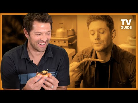 Supernatural's Misha Collins Makes a Castiel Pizza