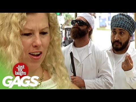 Catapulting Stranger's Food ft. Harley Morenstein, Matthew Santoro, and JusReign