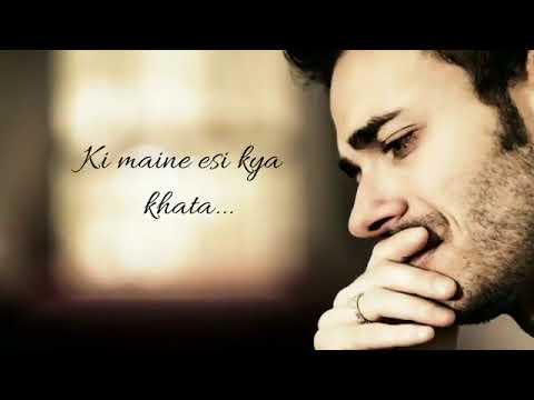 Jannat sad song -kyu itna mujhse Hai khafa tu-whatapp satusvideo