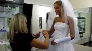 как АГАТА МУЦЕНИЕЦЕ готовилась к СВАДЬБЕ   АГАТА выбирает свадебное платье ПРИЛУЧНОМУ понравилось