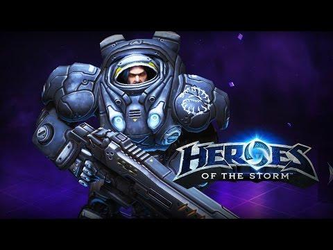 видео: heroes of the storm: Гайд на Рейнора(убийца)