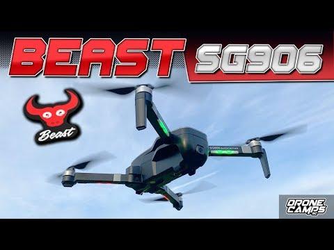 DJI MAVIC MINI? - GET a BEAST! - ZLRC BEAST SG906 4K DRONE - REVIEW & FLIGHTS 🏁