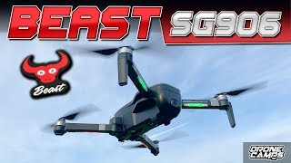 IT'S a BEAST! - ZLRC BEAST SG906 4K DRONE - REVIEW & FLIGHTS 🏁