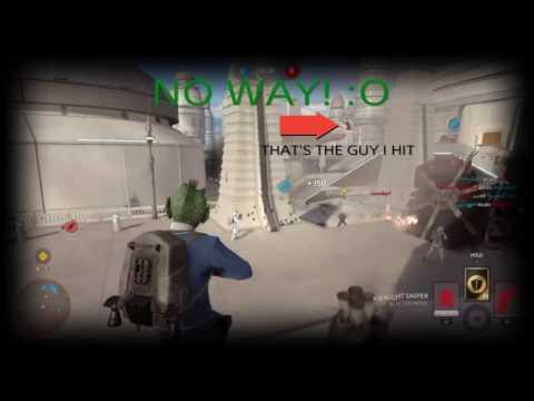 Star Wars™ Battlefront™: CRAZIEST PULSE CANNON KILL EVER! - Clip
