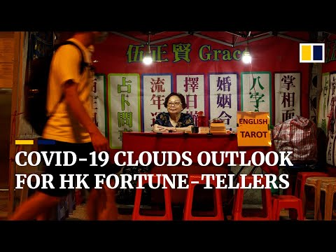 Hong Kong fortune-tellers struggle as Covid-19 pandemic keeps tourists away