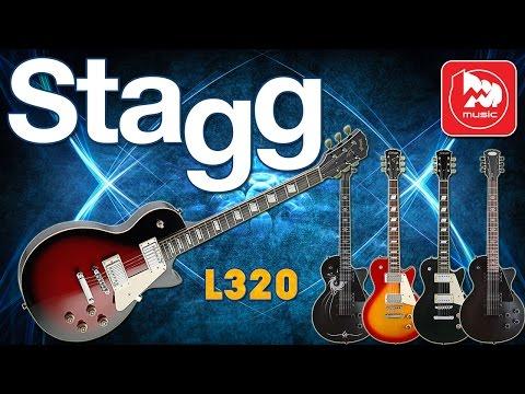 Электрогитара STAGG L320 - отличный и доступный Les Paul