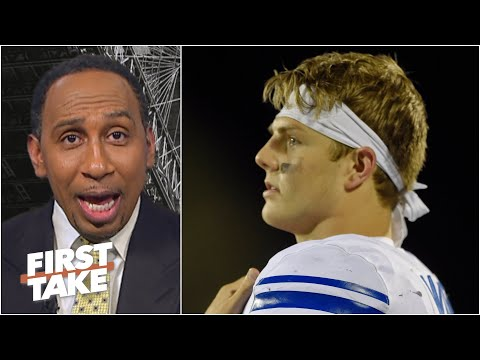 Competition matters! - Stephen A. isn't sold on Zach Wilson thanks to BYU's opponents | First Take