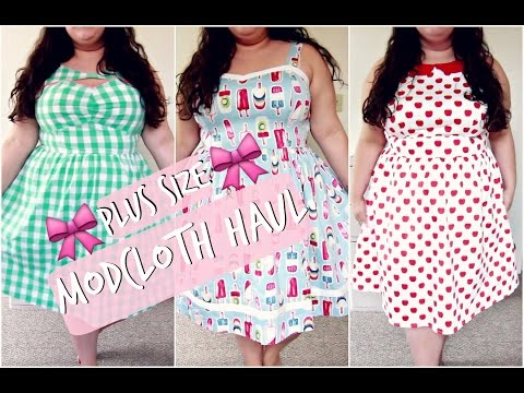 💖 COLLECTIVE MODCLOTH HAUL 💖 | PLUS SIZE TRY-ON