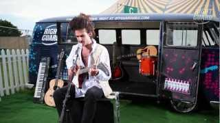 "King Charles performs ""Love is the Cure"" Exclusively for OFF GUARD GIGS, Latitude, 2012"