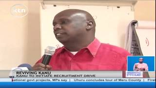 KANU Party is ready for political partnership with other political parties