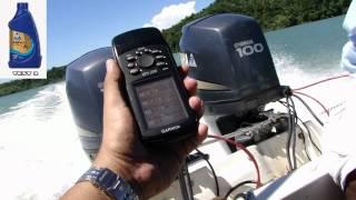 Oil test Shell Helix ULTRA 5W-40 vs 20W-50 Yamaha 100Hp fuera de Borda Outboard Engine Fuel Saving