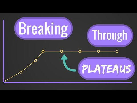 Breaking Through Plateaus -- Continue Making PROGRESS