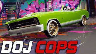 Dept. of Justice Cops #670 - Lowkey Lowrider