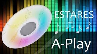 A-Play 60W RGB R - Светодиодный светильник со встроенной музыкальной колонкой