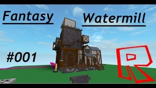 ROBLOX SPEED BUILD/ Fantasy Watermill #001