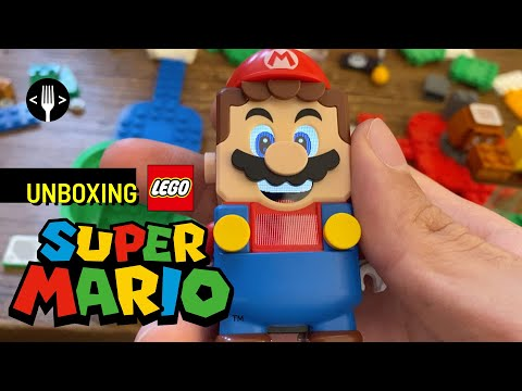 Unboxing: Lego Super Mario