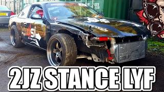 STANCE CAR GONE WRONG - 2JZ S14 + DRIFT PREP