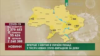Фото Коронавірус в Україні: статистика за 24 вересня