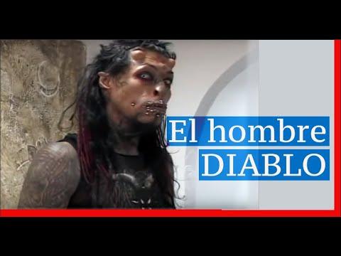 El hombre diablo colombiano