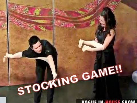 Funny Stocking Game with ELI ! |INHOUSE|