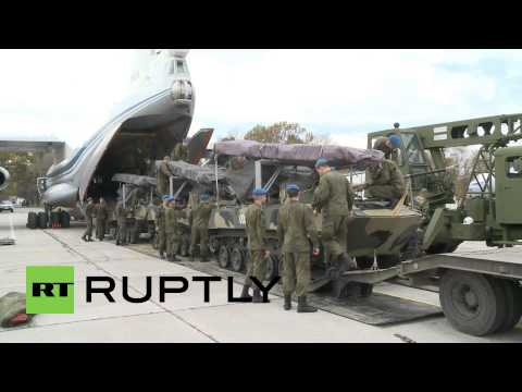 Serbia: See Russia's airborne units arrive for joint SREM-2014 anti-terror drills