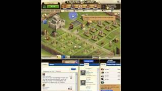 comment jouer a kingdoms of camelot sur facebook