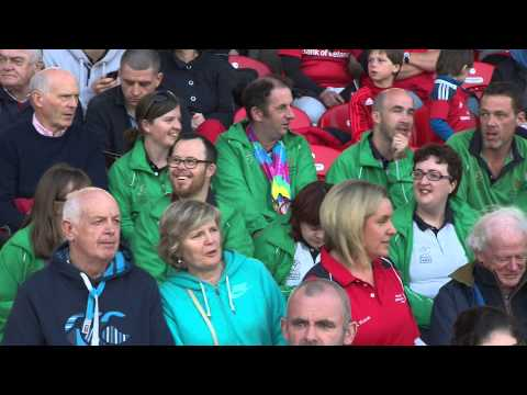 Special Olympics Ireland Honoured At Irish Independent Park