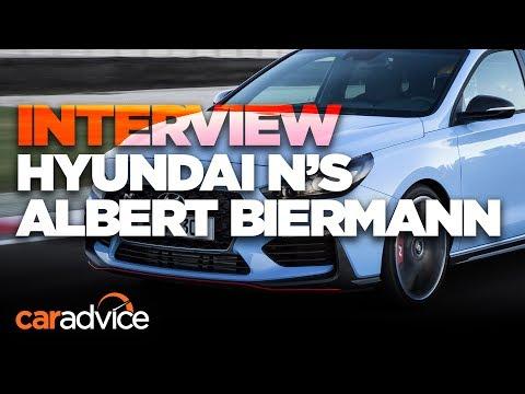 Hyundai i30 N We interview N boss Albert Biermann